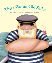 There was an old sailor book cover 1