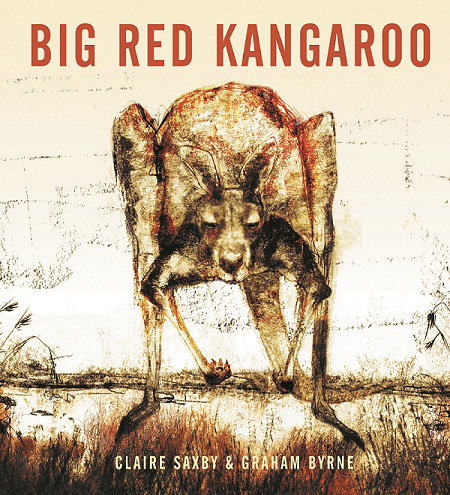 Big Red Kangaroo written by Claire Saxby