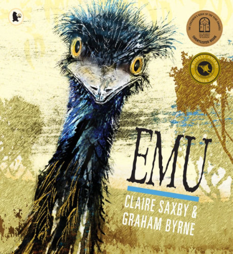 emu front cover illustrated by graham byrne