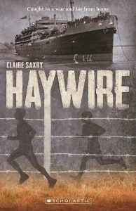 Haywire - author Claire Saxby