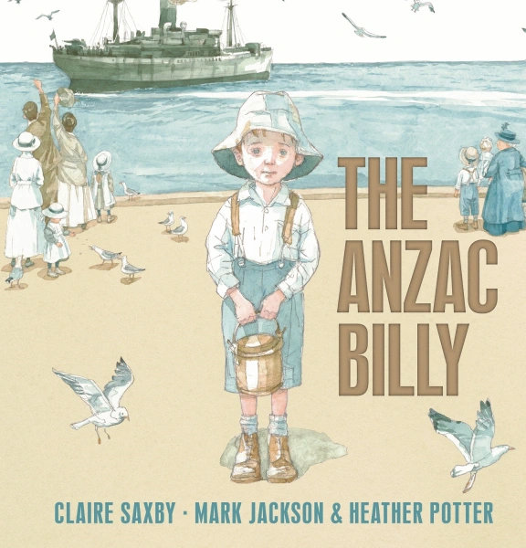 The Anzac Billy Book Cover