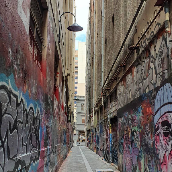 Melbourne CBD laneway