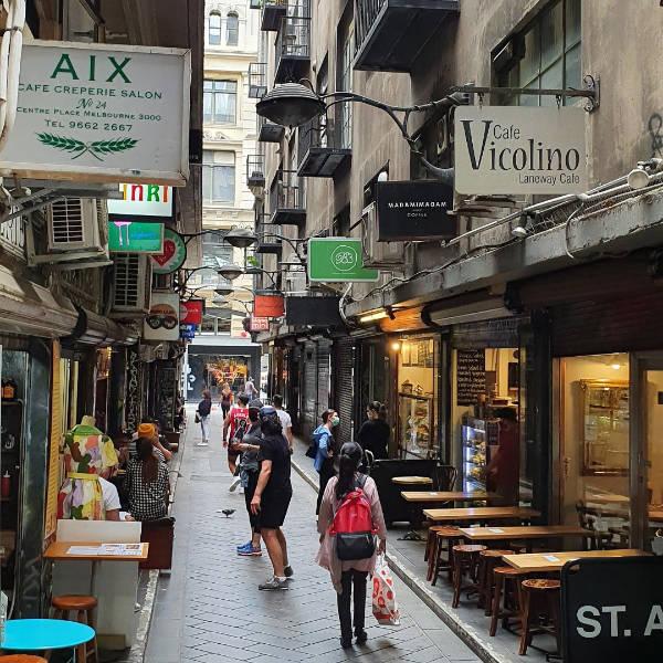Melbourne laneway cafes