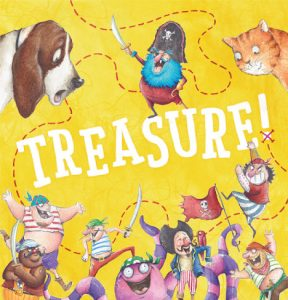 Treasure! The Book by Claire Saxby