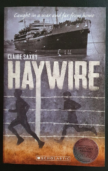 Haywire cover with Award sticker