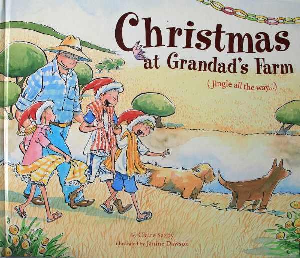 Christmas at Grandad's Farm Book Cover